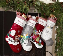 2016 embroidered Christmas stockings Christmas gifts Christmas decorations Christmas gift bag Organizer