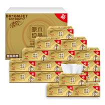 (CAT supermarket) breeze wood Gold 3-140 *24 packs of paper board in tissue boxes