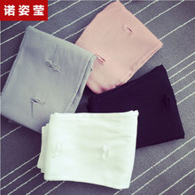 Spring and summer wear thin black pants
