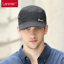 Lanmer Hat man and Korean version flows in the summer outdoor sun visor flat Cap Cap with a casual Sun Hat