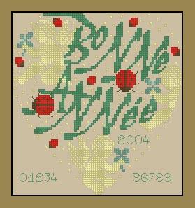 十字绣重绘电子图源文件 心形系列-螵虫