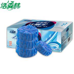 活森林蓝泡泡30个 洁厕宝洁厕灵 马桶清洁剂 洁厕块 厕所除臭剂