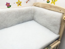 Babies baby baby bedding accessory hard cotton bed surrounding core nursery bedding pad core surrounding the bed curtain liner