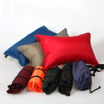 Outdoor camping portable automatic inflatable pillow travel pillow pillows pillow storage bag