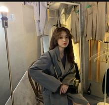 Autumn Korean version show thin long sleeve suit suit