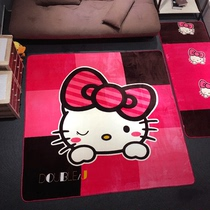 Yun Diao-slip plush mat cartoon coffee table made by sand carpet living room bedroom bed bed room