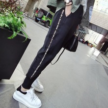 Pregnant women's pants spring and autumn thin Leggings Pants outside in autumn and winter fashion casual sports pants pants fashion mother autumn