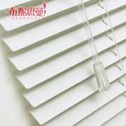 Bunisi Mann zwrócił się kij aluminiowy rolety zaciemniające zasłony/żaluzje sypialnia kuchnia łazienka niestandardowe żaluzje