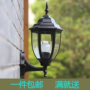 户外灯欧式壁灯现代简约室外防水庭院灯具 复古景观灯led灯饰极光壁灯