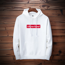 Spring and autumn new fashion brand hooded Pullover