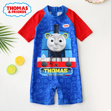 Thomas children's swimsuit boy, boy, boy, kid, swimsuit, baby boy, sunscreen cartoon swimsuit suit.
