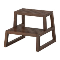 Wuxi purchase molger bath IKEA IKEA solid wood step stool with dark brown Birch