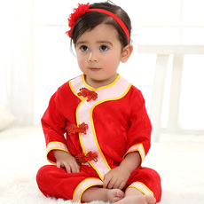 Chinese traditional outfit for children Bubbling