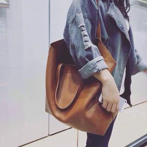 2016新款简约百搭女包托特包手提包单肩包大包时尚大容量复古包包手提包