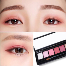 10 color eye shadow plate, make-up plate, matte pearl, bright color combination, eye color box, long lasting no staining, naked makeup beginners.