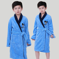 Boys dressing gown bathrobe Mickey child