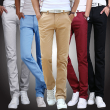 Loose straight fit casual pants in autumn and winter