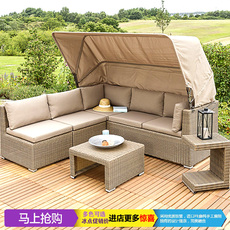 Диван из ротанга Ziyang leisure furniture