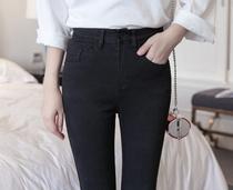 Spring summer black skinny slim stretch skinny jeans