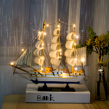Home Creative Crafts Decorations Sailing, Wedding Gifts, TV Wine Cabinet, Bedroom, Living Room, Office Table Arrangement