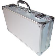Cleaning aluminum alloy portable toolbox, parts box, files box, navigation model storage box