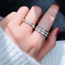 Titanium steel ring with index finger is not fading for women