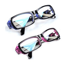 Fashionable men's and women's flat light glasses radiation proof glasses computer goggles blue light proof genuine eyes