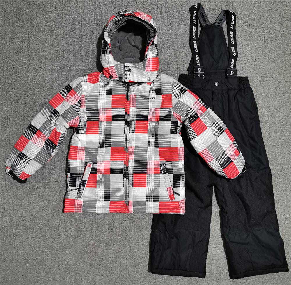 外贸原单出口加拿大儿童滑雪服套