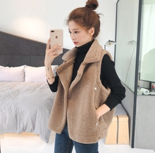New Korean version of student cashmere lambs with shawl on the outside