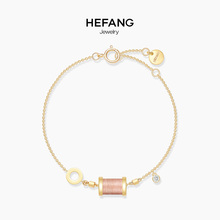 HEFANG Jewelry/, jewellery, Sleeping Princess, bracelet, 925 sterling silver, women's simple and fresh hand ornaments.