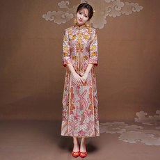 Cheongsam dress Yang Zhi xhf006 2016