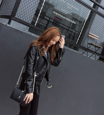 Leather jacket OTHER ACNE