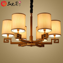 New Chinese chandelier, living room lamp, antique, Chinese style, retro lantern, Zen, modern teahouse, bedroom, dining room, lamps and lanterns.