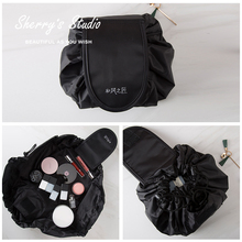 Little Sydney's beauty shop and wind maker's make-up bag, waterproof, big capacity, business trip, lazy people.
