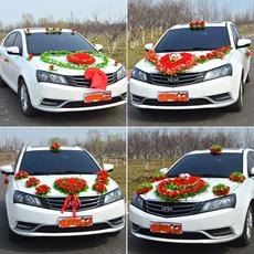 Свадебные цветы для украшения автомобиля Свадебный