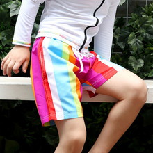 Boys' shorts summer thin beach pants children's casual middle and big children's pants sports swimming trunks summer