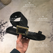Zhang Zi Italy purchasing Maison Margiela MMM belt buckle sandals 18 spring and summer