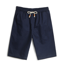 Youth Summer multi color straight tube loose large pure cotton solid color shorts