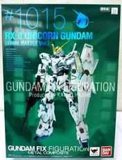 Toys from the gundam series FIX