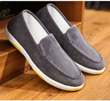 Spring Korean version breathable working canvas shoes