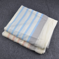 New polyester-cotton striped Comfort Quilt cover bed tick in foreign trade 105*205CM