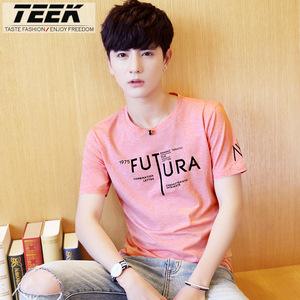 2017夏季新款男装体恤学生半袖青少年上衣服韩版潮流男士短袖t恤短袖T恤男