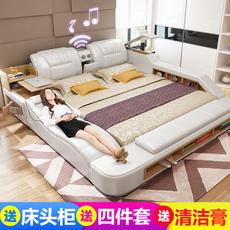 кожаная кровать Titan 1.8