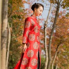 Skirt-dress Qin Sheng Kee q164w039