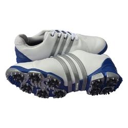 真皮特价超值新款疯抢正品Adidas高尔夫鞋阿迪达斯男士高尔夫球鞋