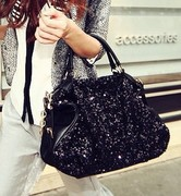 2013 new fion and the wind sequined handbag chain bag commuter Shoulder Bag Handbag