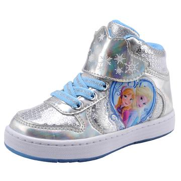 云朵智能童鞋 disney迪士尼童鞋 冰雪奇缘女童鞋2015春女童运动鞋