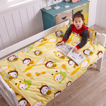 Special cartoon kindergarten six pieces of pure cotton quilt by core