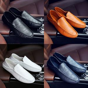 2017春季新款男鞋韩版豆豆鞋男士休闲皮鞋懒人鞋一脚蹬潮鞋驾车鞋皮鞋