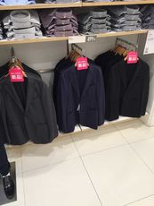 Jacket costume Uniqlo 182567